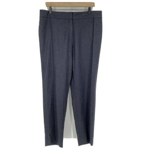 Escada Pants Tina Wool Cashmere Straight